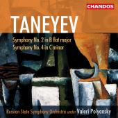 Album artwork for Tanayev: SYMPHONIES NOS. 2 & 4