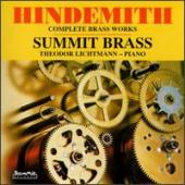 Album artwork for Paul Hindemith: Complete Brass Works
