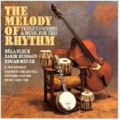 Album artwork for Fleck / Hussain / Meyer: The Melody of Rhythm