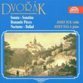 Album artwork for Dvorak: VIOLIN & PIANO WORKS / Suk