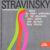 Album artwork for Stravinsky: L'Histoire du Soldat, Ebony Concerto,