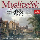 Album artwork for Myslivecek: Violin Concertos vol.2