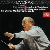 Album artwork for DVORAK/ SYMPHONIC VARIATIONS, SCHERZO CAPRICCIOSO,
