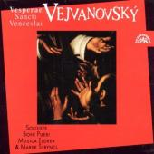 Album artwork for Vejvanovsky: Vesperae Sancti Venceslai