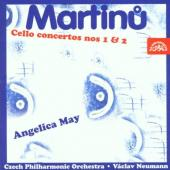 Album artwork for MARTINU- CELLO CONCERTOS NOS 1 & 2