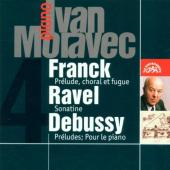 Album artwork for IVAN MORAVEC PLAYS FRENCH MUSIC