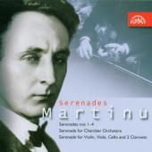 Album artwork for MARTINU SERENADES