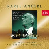 Album artwork for Ancerl Gold Edition 18 - Mozart: Violin Concerto k