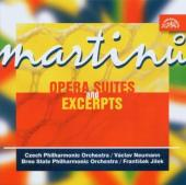 Album artwork for MARTINU: OPERA SUITES AND EXCERPTS