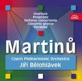 Album artwork for Martinu: Orchestra Works / Belohlavek
