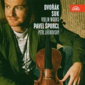 Album artwork for DVORAK & SUK VIOLIN WORKS