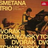 Album artwork for Tchaikovsky and Dvorak Piano Trios - Smetana trio