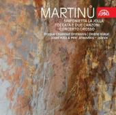 Album artwork for MARTINU - LA JOLLA, TOCCATA