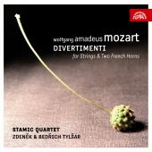 Album artwork for Mozart: Divertimenti for Strings and Two Horns