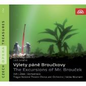 Album artwork for Janacek - Vylety Pane Brouckovy / The Excursions o
