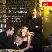 Album artwork for Risonanza (Eben, Hanus, Haas) : Modern Czech Music