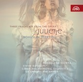 Album artwork for Martinu - Fragments from the Opera 'Juliette'