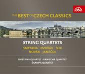Album artwork for Best of Czech Classics: String Quartets
