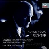 Album artwork for Richter plays Tchaikovsky, Prokofiev, and Bach