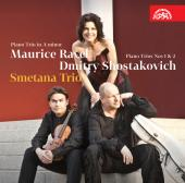 Album artwork for Smetana Trio plays Ravel & Shostakovich
