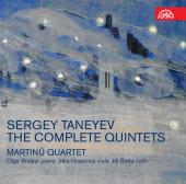 Album artwork for Taneyev: Complete Quintets