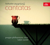 Album artwork for MARTINU: CANTATAS / Vasilek