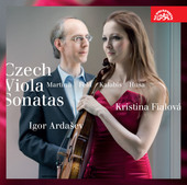 Album artwork for CZECH VIOLA SONATAS / Ardasev