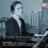 Album artwork for Tatiana Nikolayeva - Prague Recordings