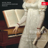 Album artwork for Tomasek: FORTEPIANO SONATAS