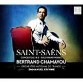 Album artwork for Saint-Saens: Piano Concertos 2 & 5 (Chamayou)