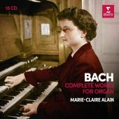 Album artwork for Bach: Complete Works for Organ (Marie Claire Alain