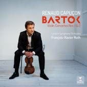 Album artwork for Bartok: Violin Concertos 1 & 2 / Capucon
