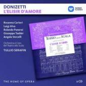 Album artwork for Donizetti: L'Eliser d'Amore (Serafin)
