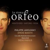 Album artwork for La Storia di Orfeo / Jaroussky, Fasolis