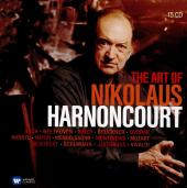 Album artwork for The Art of Nikolaus Harnoncourt 15 CD set