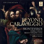 Album artwork for Beyond Caravaggio - Monteverdi Vespers / Christie