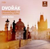 Album artwork for Dvorak: Synmnphonies & Other Orchestral Works