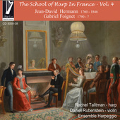Album artwork for The School of Harp in France, Vol. 4
