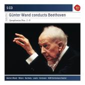 Album artwork for Gunter Wand conducts Beethoven