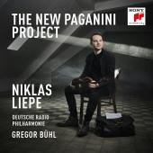 Album artwork for The New Paganini Project / Niklas Liepe