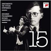 Album artwork for Shostakovich: The Fifteen Symphonies