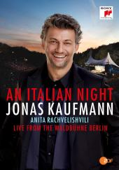 Album artwork for An Italian Night Blu-ray / Jonas Kaufmann