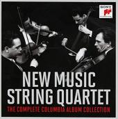 Album artwork for NEW MUSIC STRING QUARTET - THE COMPLETE COLUMBIA A