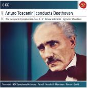 Album artwork for Toscanini conducts Beethoven (6-CD set)