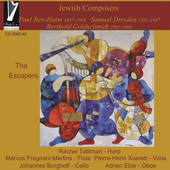 Album artwork for Jewish Composers: The Escapers
