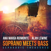 Album artwork for Soprano Meets Bass - Sephardic Treasures