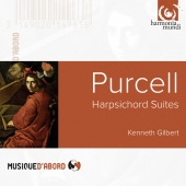Album artwork for PURCELL. Harpsichord Suites Nos.1-8. Gilbert