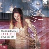Album artwork for CAVALLI. La Calisto. Concerto Vocale/Jacobs