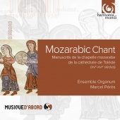 Album artwork for Mozarabic Chant.  Ensemble Organum, Peres