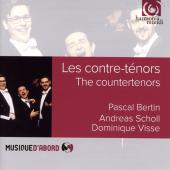 Album artwork for The Countertenors - Scholl, Bertin, Visse